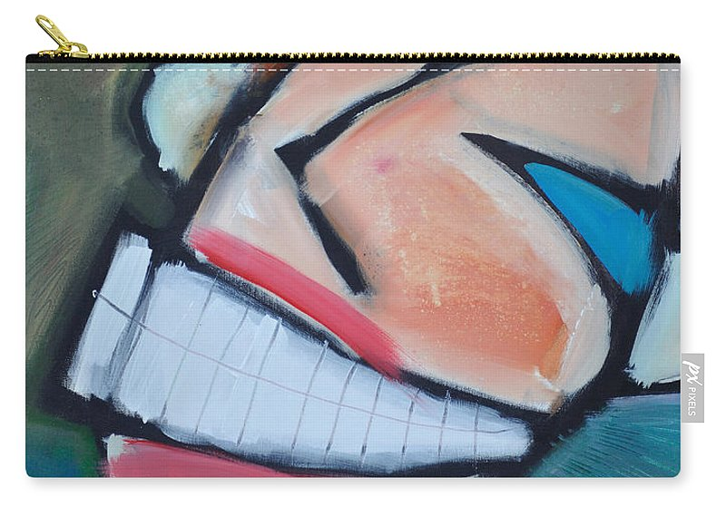 Smile Carry-all Pouch featuring the painting Coconut Bread by Tim Nyberg