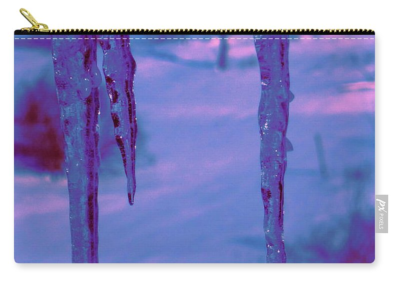 Water Carry-all Pouch featuring the photograph Cold Night Falling by Sybil Staples