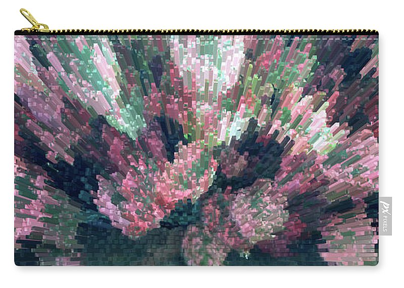 Plant Carry-all Pouch featuring the photograph Coleus Extrusion by Laura Mace Rand