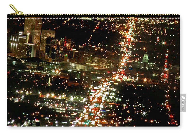 Colfax Carry-all Pouch featuring the photograph Colfax by Jeffery Ball