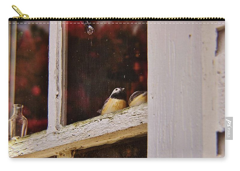 Window Carry-all Pouch featuring the photograph Collectibles by JAMART Photography