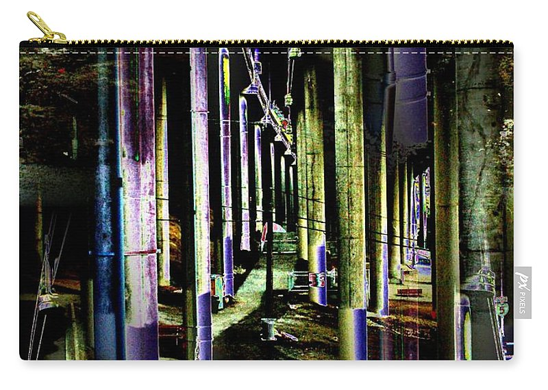 Seattle Carry-all Pouch featuring the photograph Collonade Park by Tim Allen