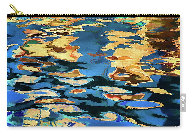 Abstract Carry-all Pouch featuring the photograph Color Abstraction Lxix by David Gordon