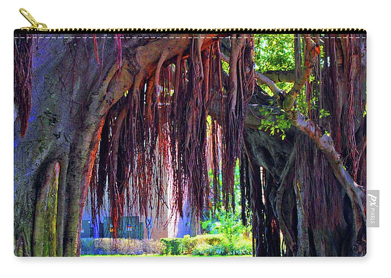 Color Carry-all Pouch featuring the photograph Color Of Nature by Jost Houk