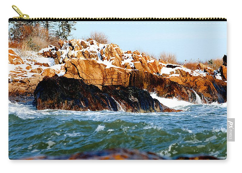 Gloucester Carry-all Pouch featuring the photograph Color Palette by Greg Fortier