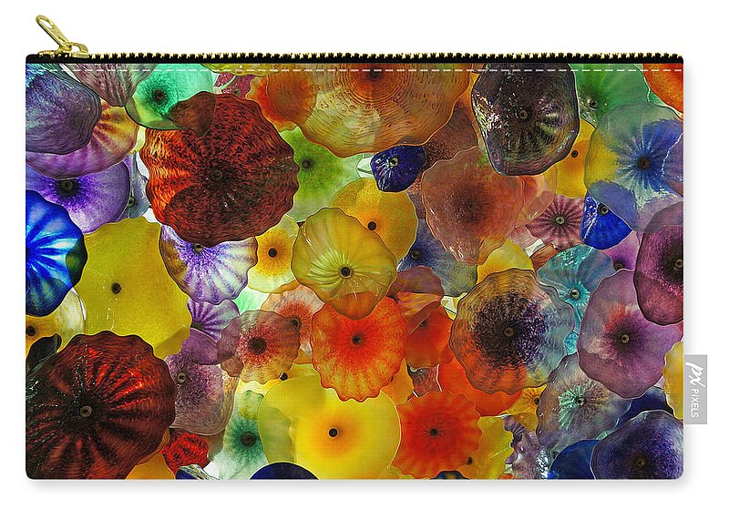 Ann Keisling Carry-all Pouch featuring the photograph Color Pop by Ann Keisling