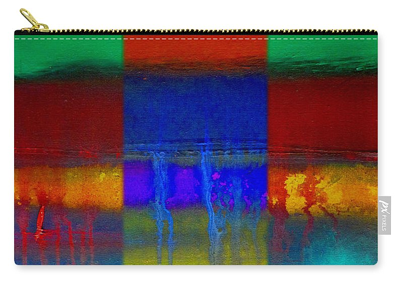 Landscape Carry-all Pouch featuring the painting Color State by Charles Stuart