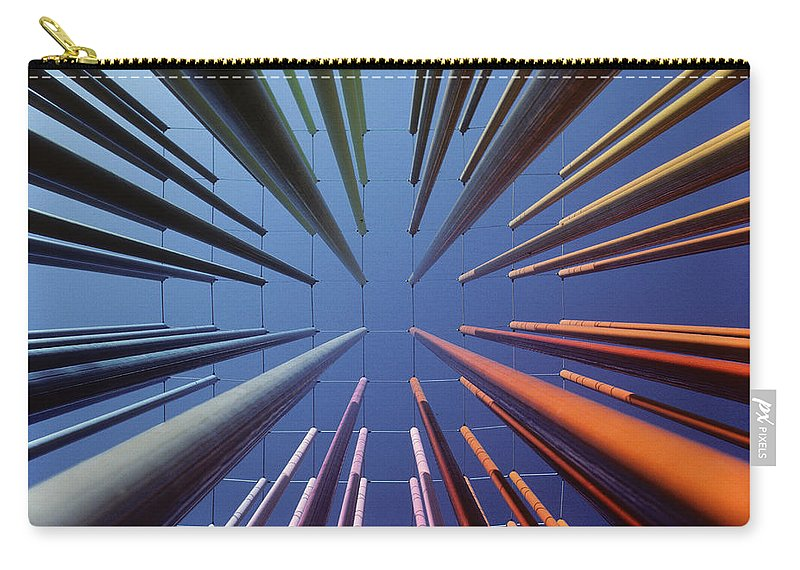 Abstract Carry-all Pouch featuring the photograph Color by Steve Williams