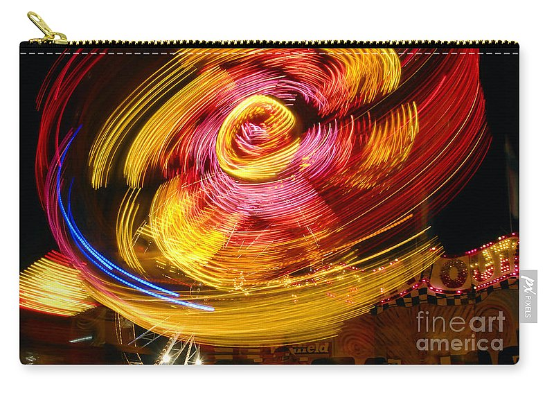 Fair Carry-all Pouch featuring the photograph Color Twist by David Lee Thompson