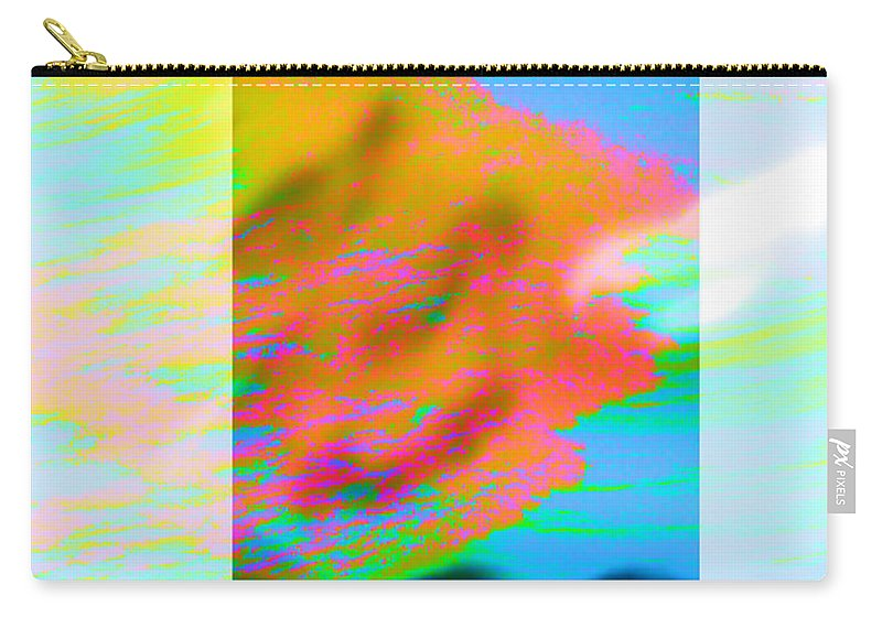 Color Carry-all Pouch featuring the digital art Color Wave by Are Lund