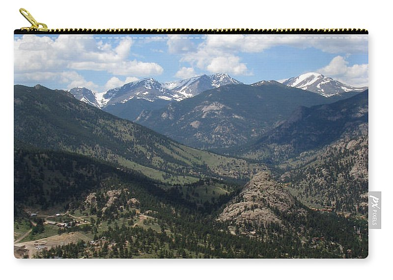 Colorado Carry-all Pouch featuring the photograph Colorado by Amanda Barcon