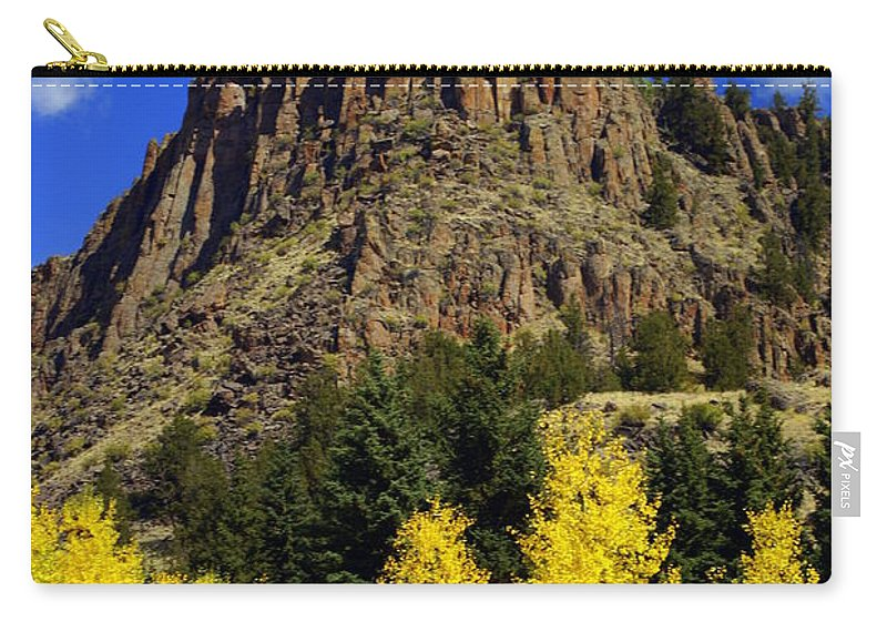 Colorado Carry-all Pouch featuring the photograph Colorado Butte by Marty Koch