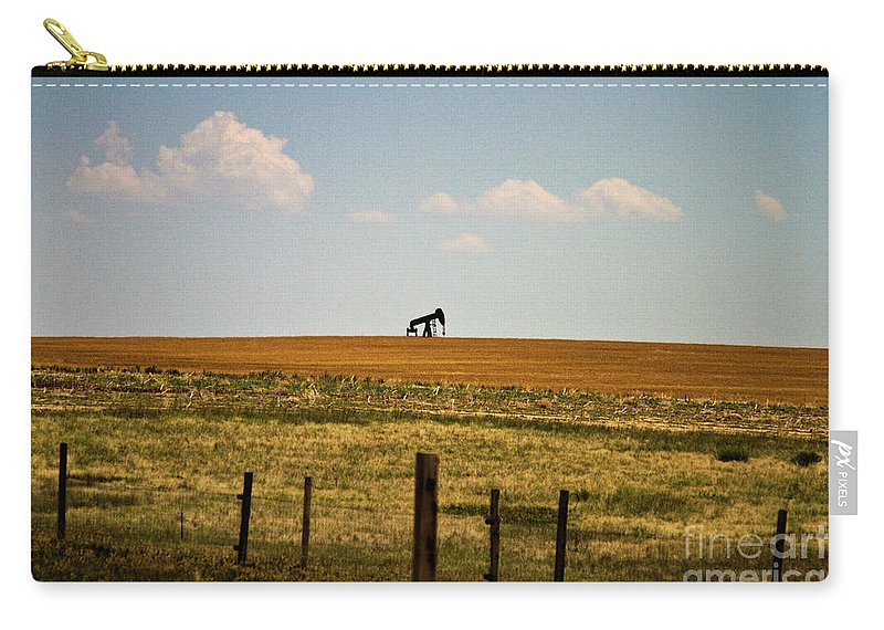 Oil Carry-all Pouch featuring the photograph Colorado Crude by Scott Pellegrin