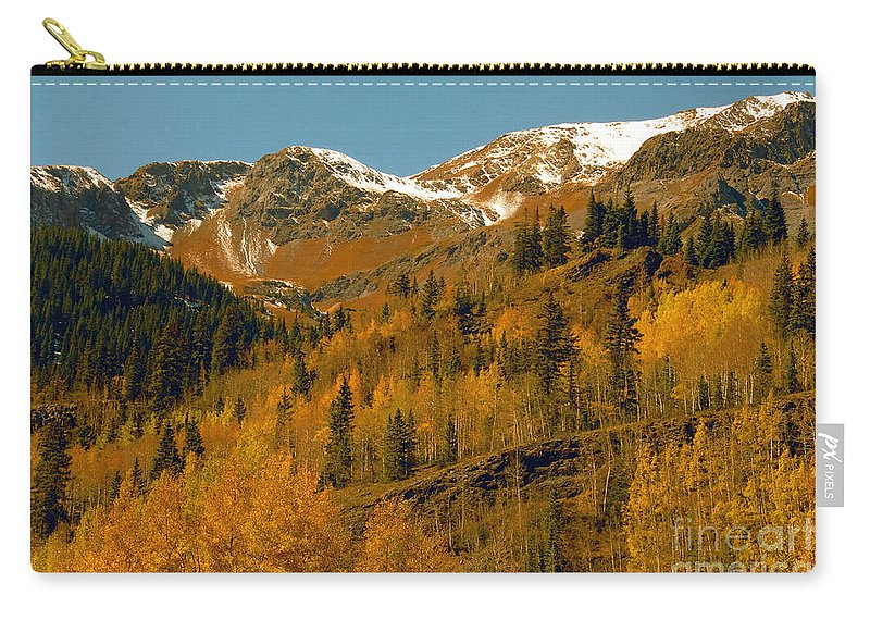 Colorado Carry-all Pouch featuring the photograph Colorado by David Lee Thompson