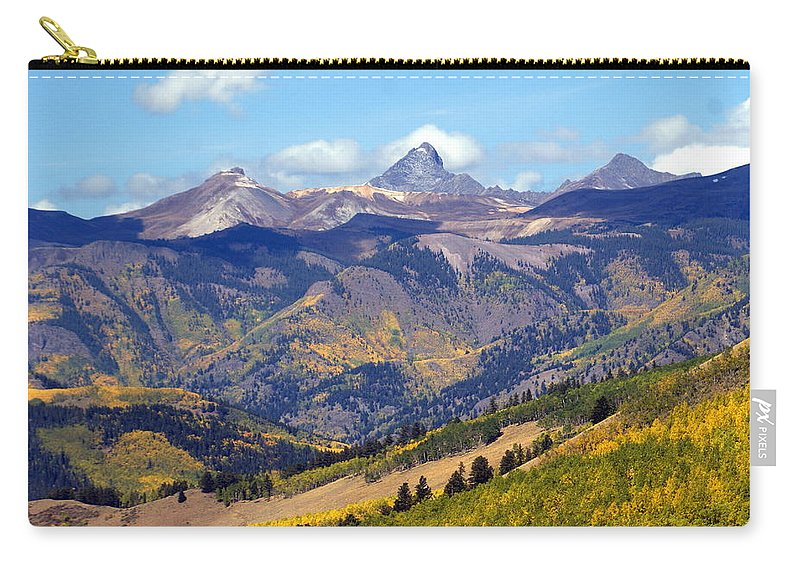 Mountains Carry-all Pouch featuring the photograph Colorado Mountains 1 by Marty Koch