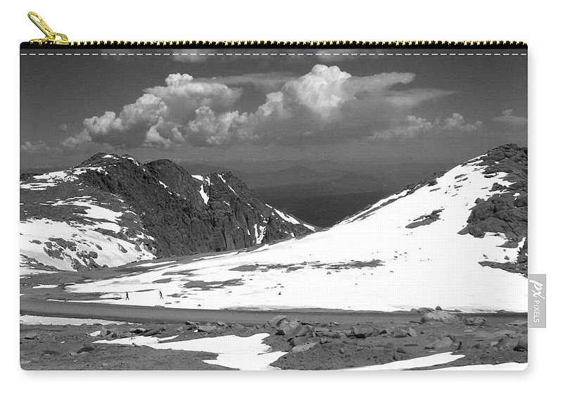 Colorado Carry-all Pouch featuring the photograph Colorado Mountians 1 by Anita Burgermeister