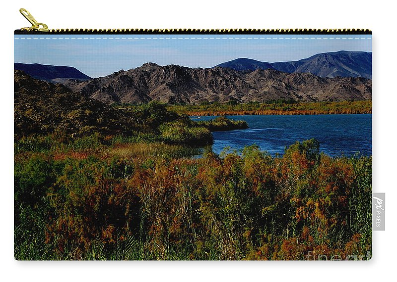 Patzer Carry-all Pouch featuring the photograph Colorado River by Greg Patzer