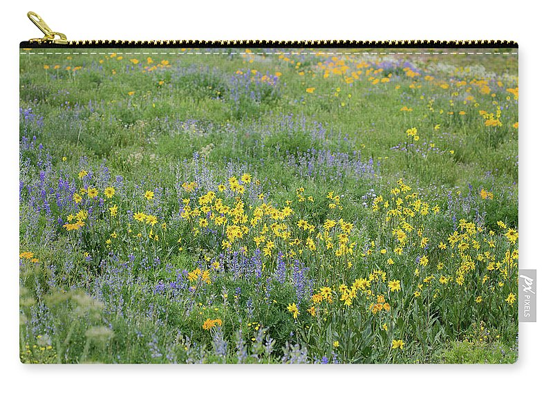 Crested Butte Carry-all Pouch featuring the photograph Colorado Summer Color by Meagan Watson
