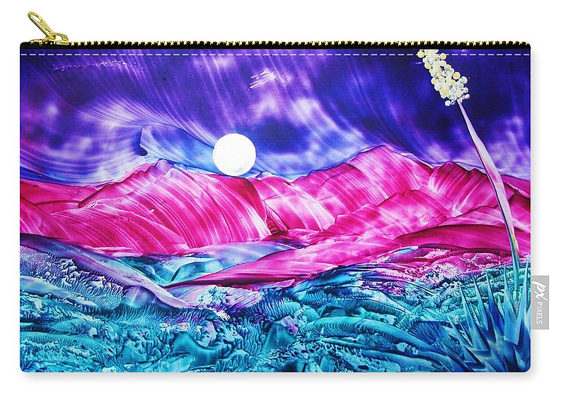Bold Carry-all Pouch featuring the print Colorful Desert by Melinda Etzold