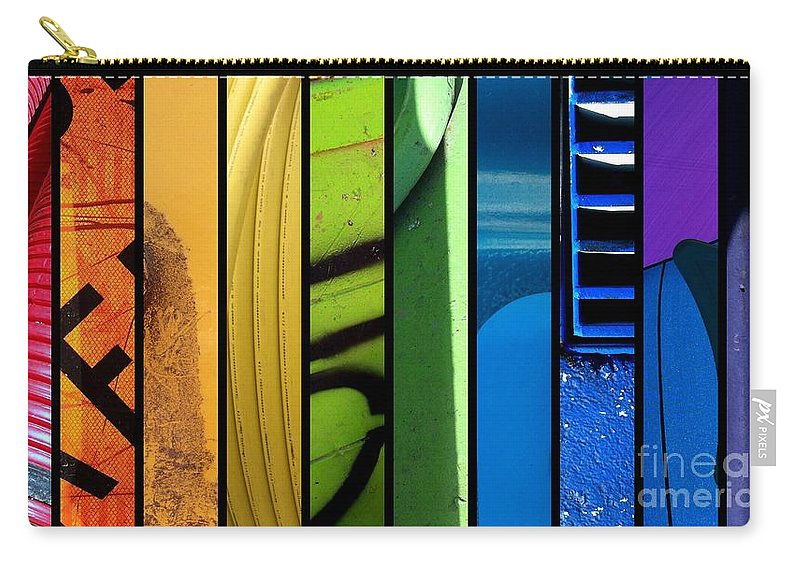 Lgbt Carry-all Pouch featuring the photograph Colorific by Marlene Burns