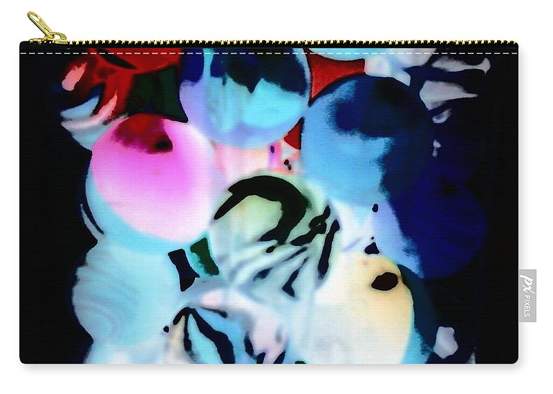 Balls Carry-all Pouch featuring the photograph Colors 4 by Cindy New