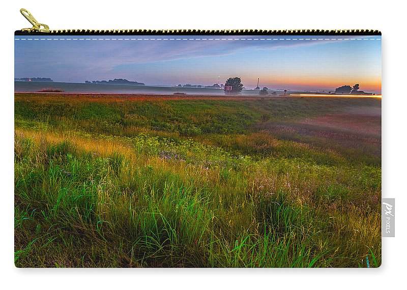 Landscape Carry-all Pouch featuring the photograph Colors Of Iowa by Amel Dizdarevic