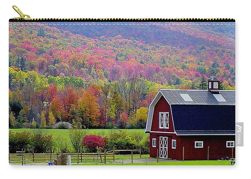 Fall Carry-all Pouch featuring the photograph Colors Of New England by Rick Monyahan