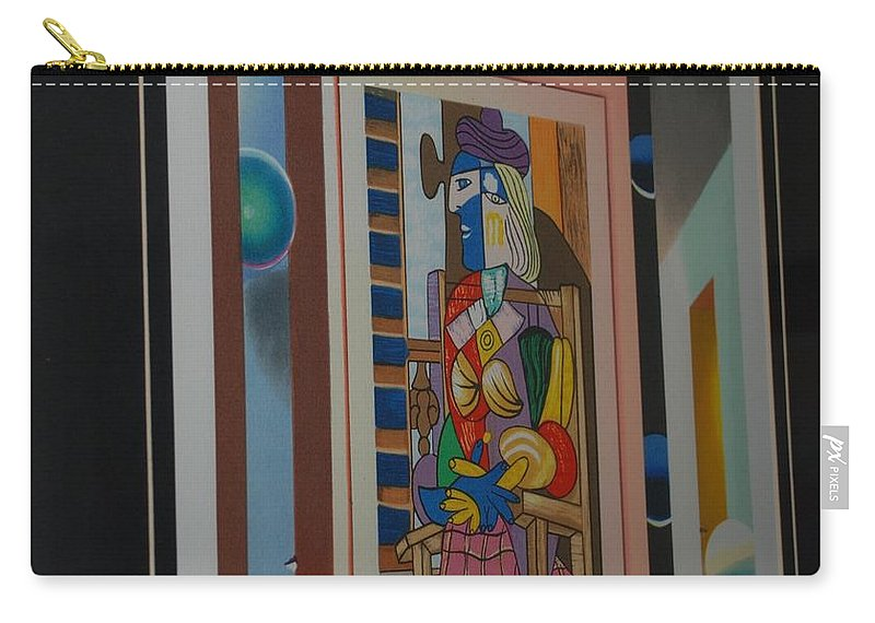 Colors Carry-all Pouch featuring the photograph Colors by Rob Hans