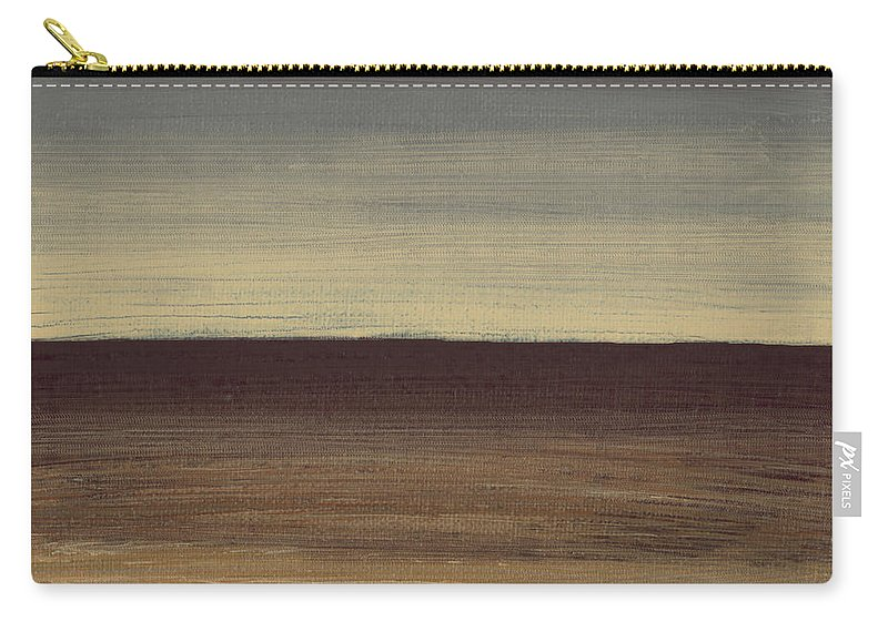 Abstract Painting Carry-all Pouch featuring the painting Colorscape 1 by Debbie Smith