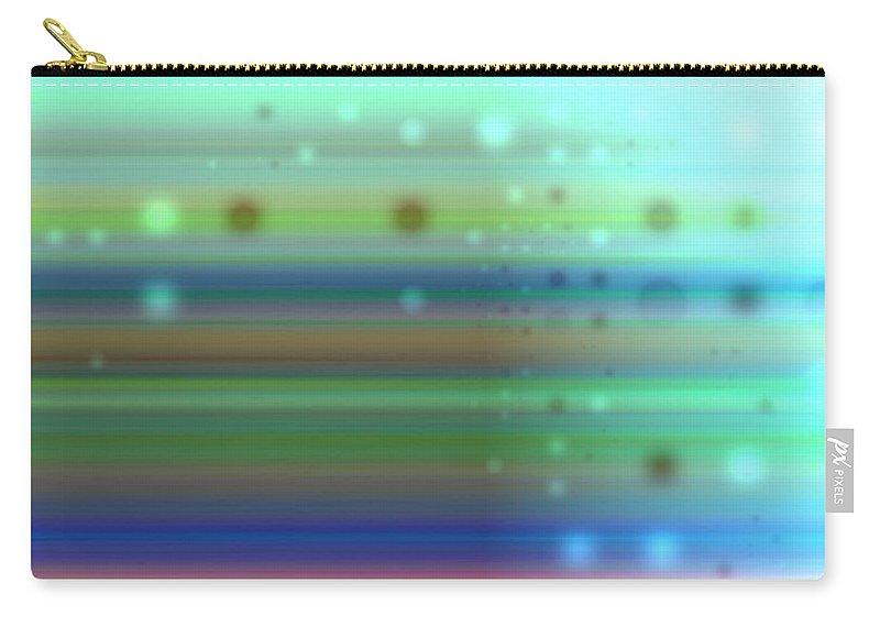 Art Digital Art Carry-all Pouch featuring the digital art Colour15mlv - Impressions by Alex Porter
