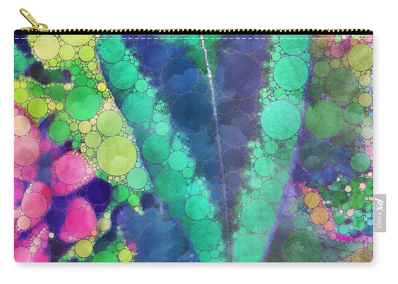 Leaves Carry-all Pouch featuring the photograph Colourful Leaves by Mo Barton