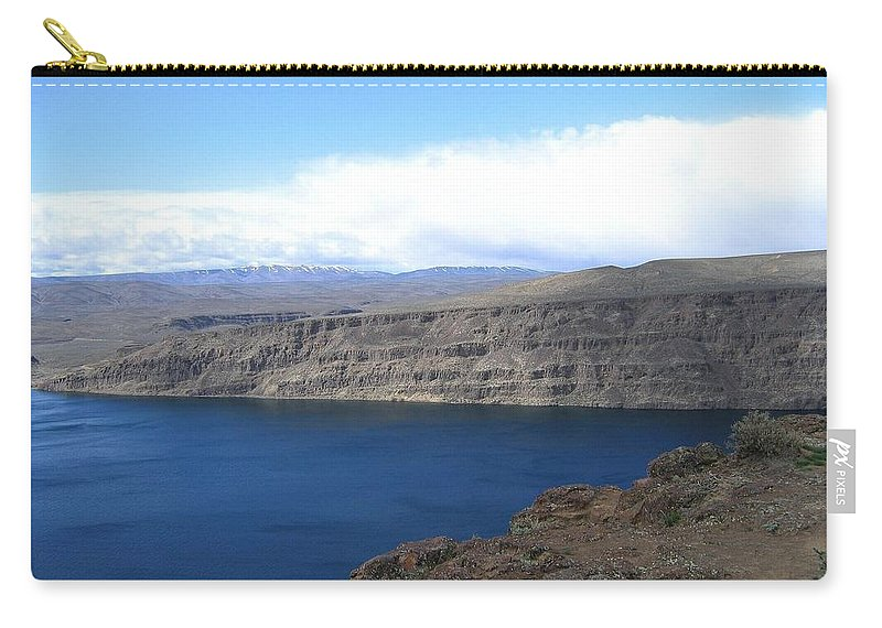 Columbia River Carry-all Pouch featuring the photograph Columbia River by Will Borden