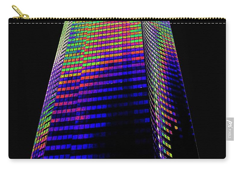 Seattle Carry-all Pouch featuring the photograph Columbia Tower Seattle Wa by Tim Allen