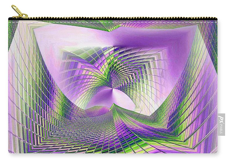 Seattle Carry-all Pouch featuring the photograph Columbia Tower Vortex 3 by Tim Allen