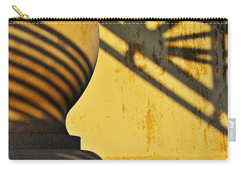 Architecture Carry-all Pouch featuring the photograph Comb Over by Skip Hunt
