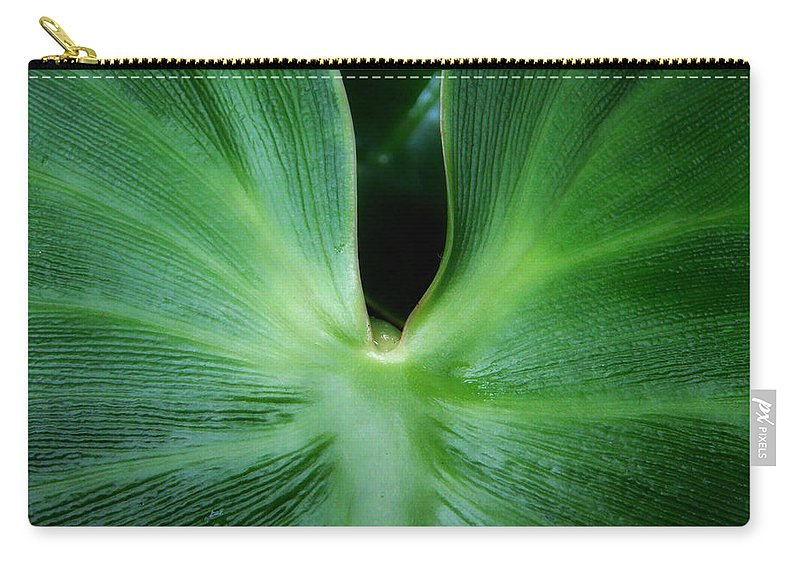 Botanical Carry-all Pouch featuring the photograph Come Closer by Donna Blackhall