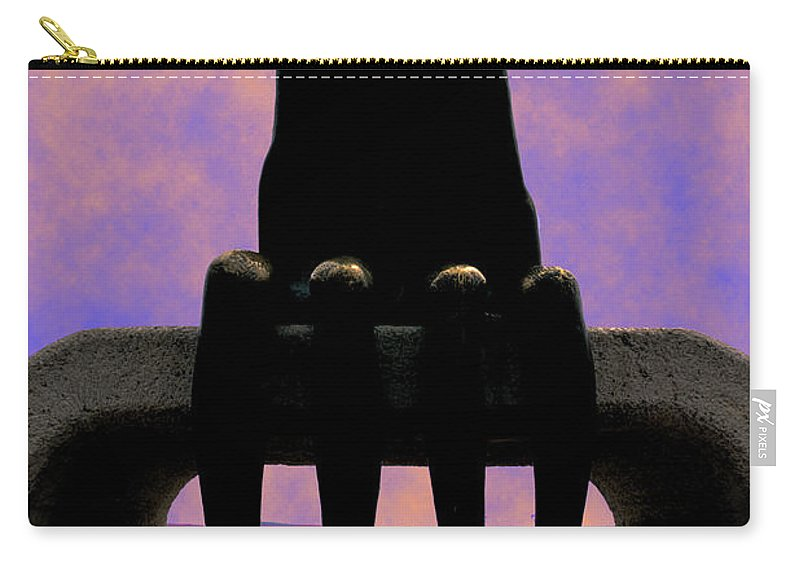 Couple Carry-all Pouch featuring the photograph Come Here Often by Paul Wear