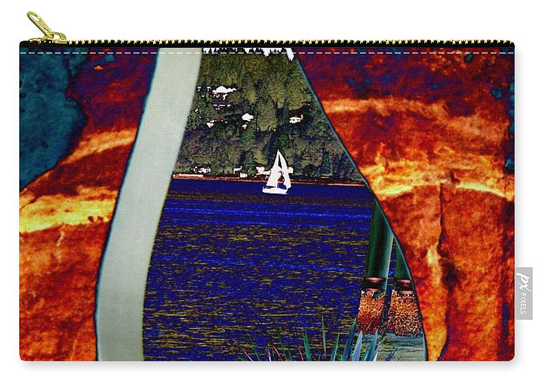 Bremerton Carry-all Pouch featuring the photograph Come Sail Away by Tim Allen