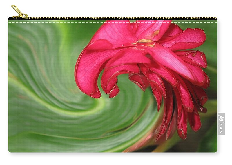Flower Carry-all Pouch featuring the photograph Come To Me by Ian MacDonald