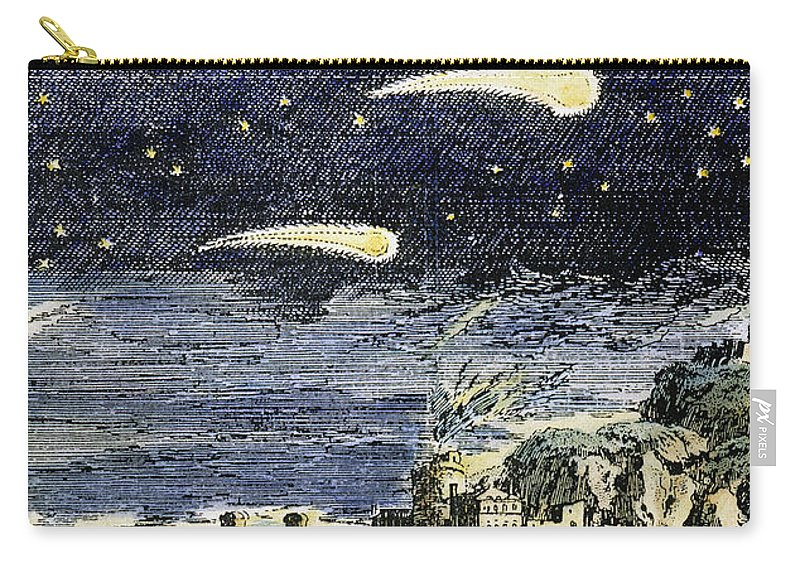Comet Carry-all Pouch featuring the photograph Comets by Granger
