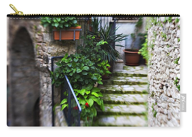 Home Carry-all Pouch featuring the photograph Coming Home by Marilyn Hunt
