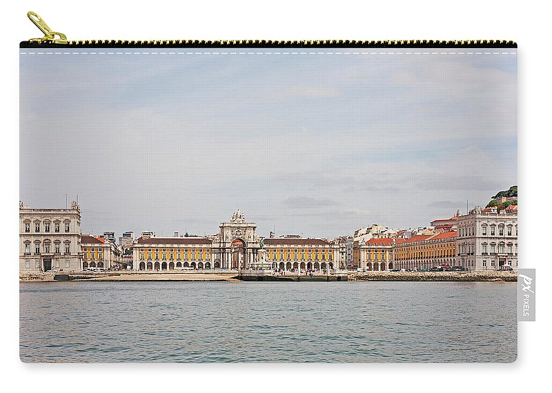 Ancient Carry-all Pouch featuring the photograph Commerce Square by Moura Pereira