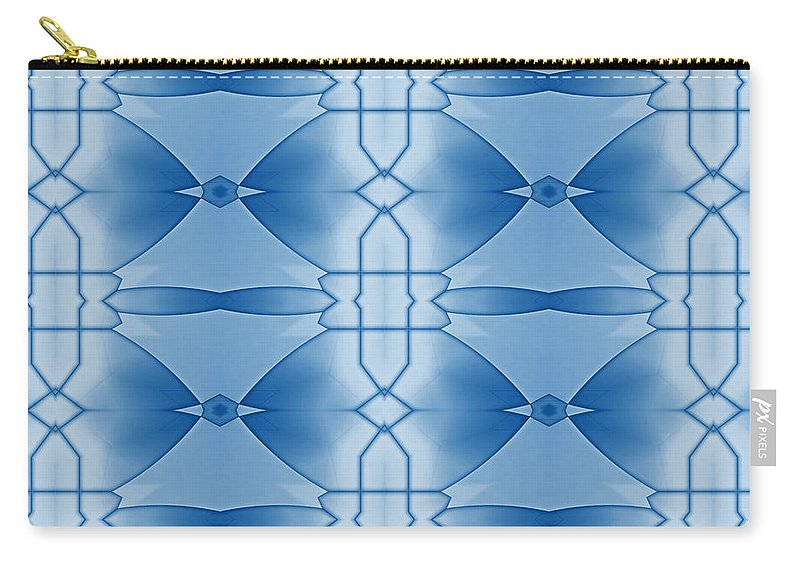 Abstract Carry-all Pouch featuring the digital art Communications by Georgiana Romanovna