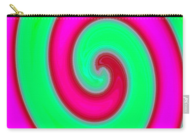 Abstract Carry-all Pouch featuring the digital art Conceptual 4 by Will Borden