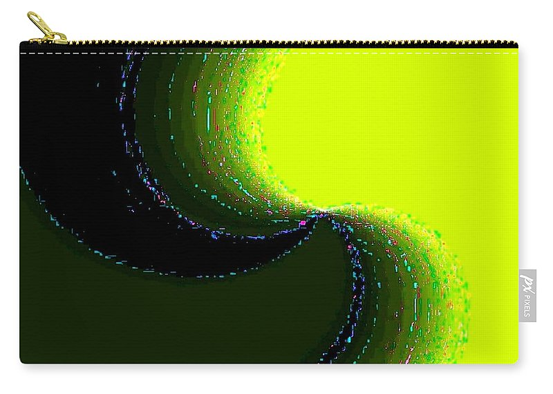 Organic Carry-all Pouch featuring the digital art Conceptual 5 by Will Borden