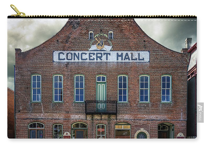 Hermann Mo Carry-all Pouch featuring the photograph Concert Hall Hermann Mo_dsc3947 by Greg Kluempers