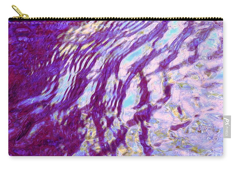 Water Art Carry-all Pouch featuring the photograph Concurrence by Sybil Staples