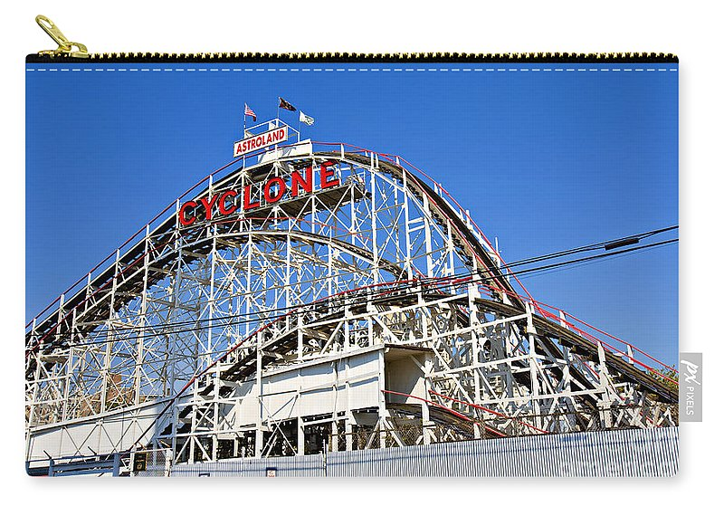 Coney Island Carry-all Pouch featuring the photograph Coney Island Memories 2 by Madeline Ellis