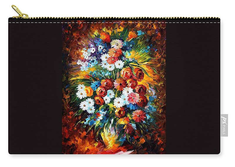 Afremov Carry-all Pouch featuring the painting Congradulation by Leonid Afremov