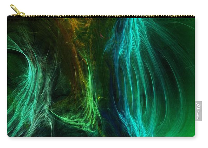 Digital Painting Carry-all Pouch featuring the digital art Congress by David Lane